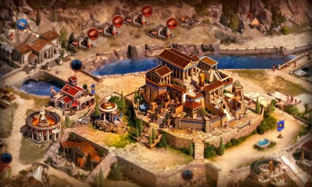 Juego en navegador Sparta- War of Empires