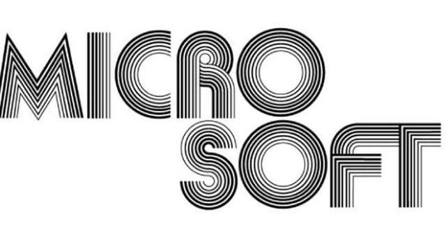 Primer logo de Microsoft