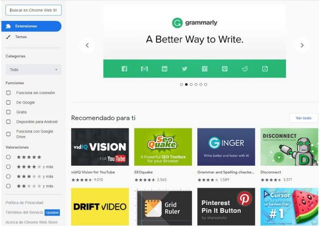 Qué son las extensiones de Google Chrome