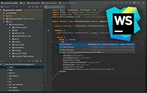 WebStorm IDE