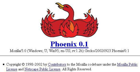 Historia del navegador Web Firefox de Mozilla
